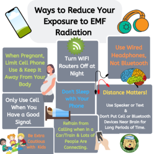 Ways to Reduce Your EMF Radiation Exposure
