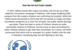 How the CIA Hurt Public Health