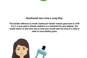 The History of Mouthwash