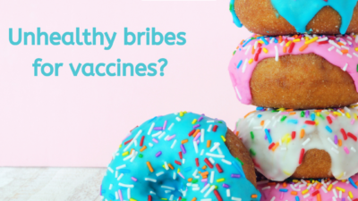 Unhealthy Bribes for Vaccines